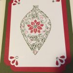 ornament outline card