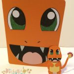 Charmander Face Card and matching little guy