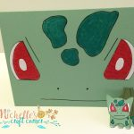 Bulbasaur Face Card and little punch art